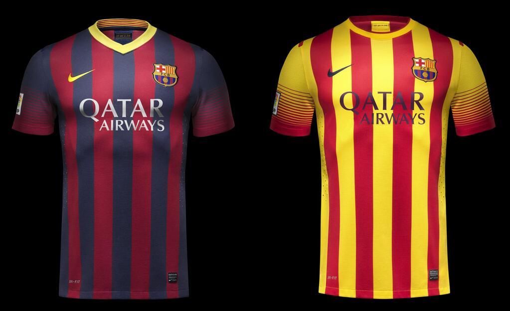 Jersey Baru Barcelona 2013-2014   Dwizeru  Jersey Baru Bar...